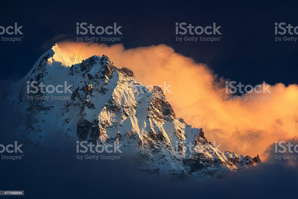 Himalaya's Fane stock photo