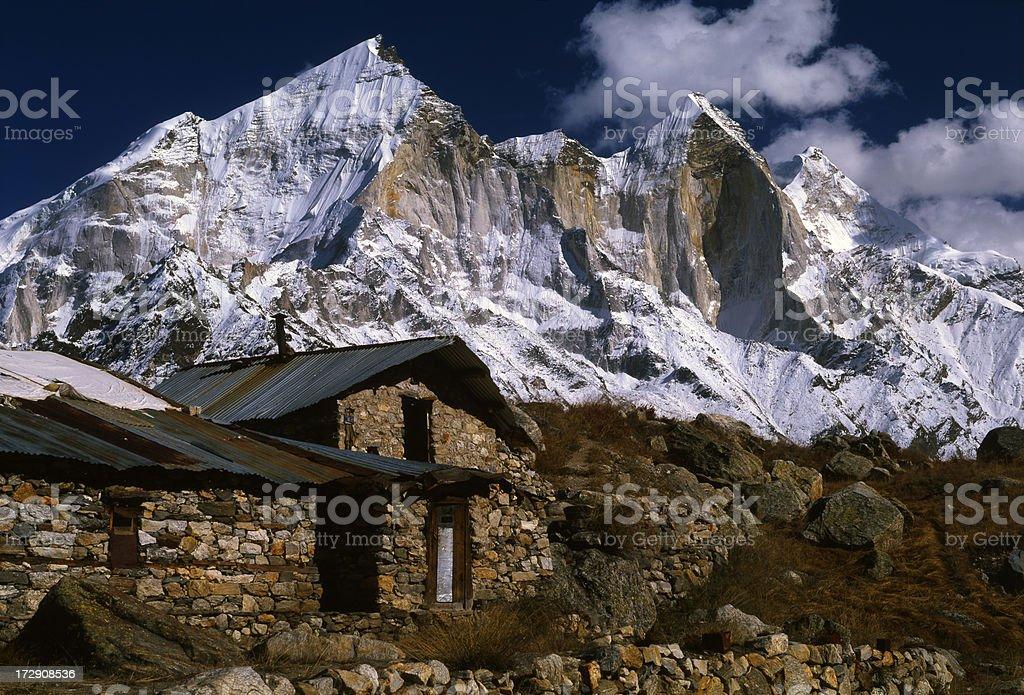 Himalayas. India stock photo