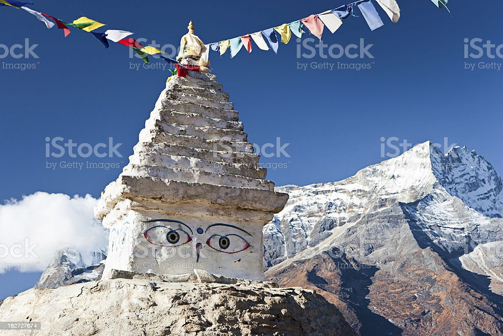Himalaya's landscape royalty-free stock photo