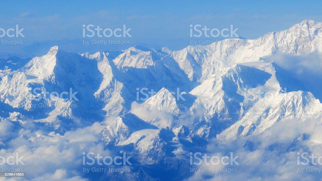 Himalayas, Mountain stock photo