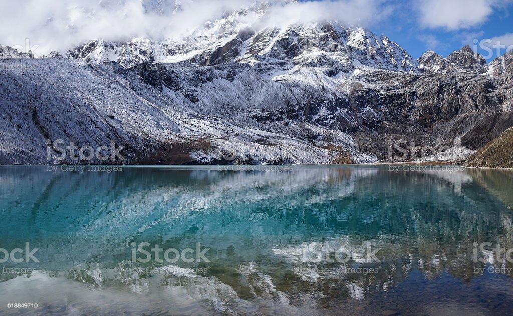 Himalayas, Nepal, Gokyo Ri stock photo