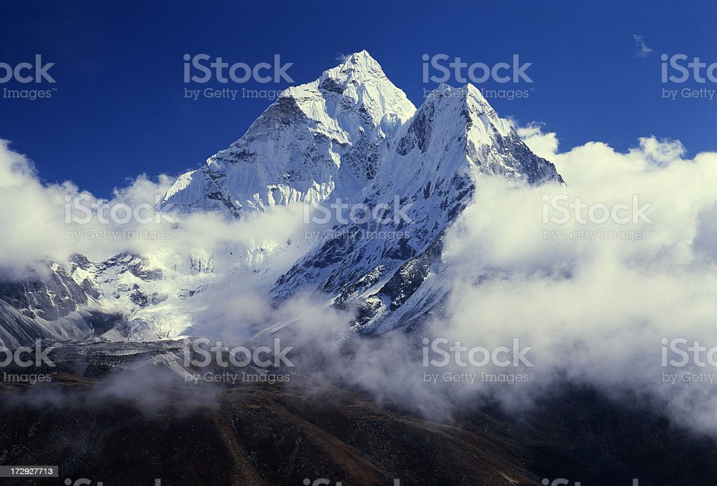 Himalayas. Nepal stock photo