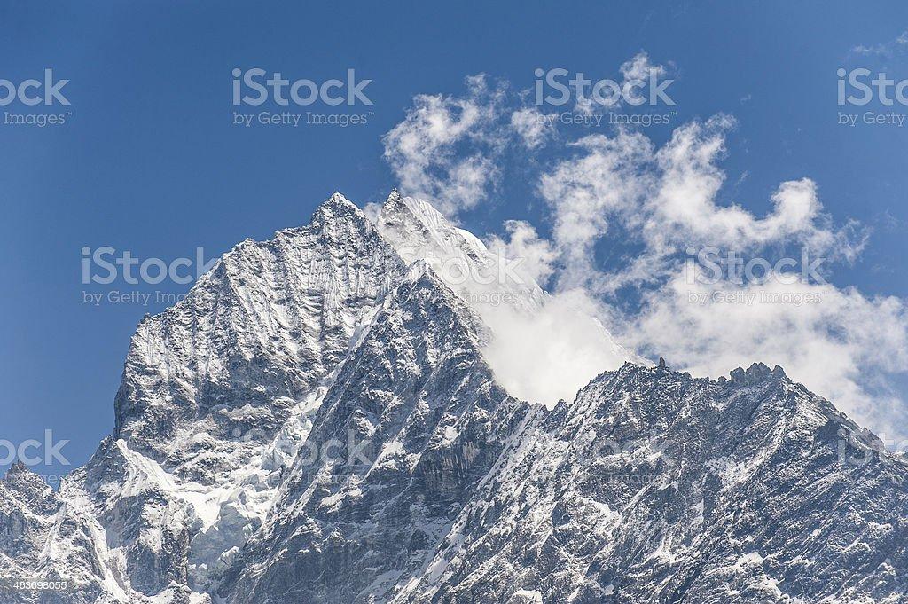 Himalayas. Nepal stock photo