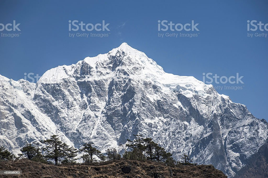 Himalayas. Nepal royalty-free stock photo