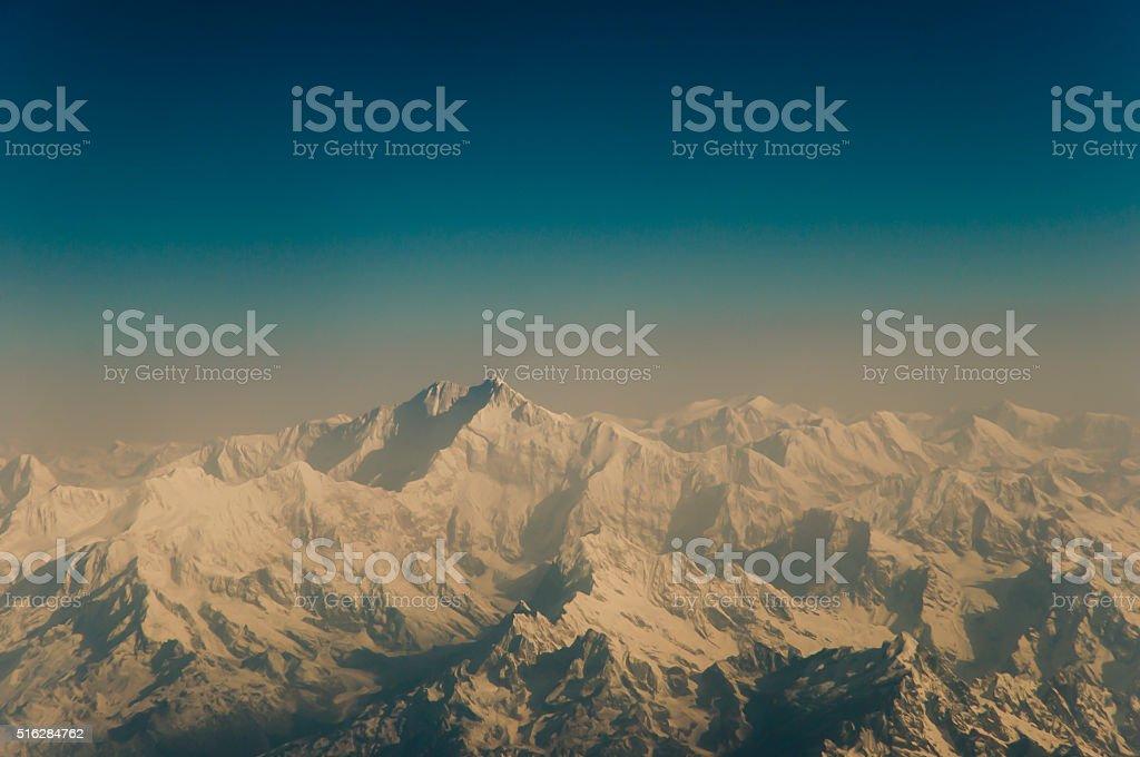 Himalayas - Nepal stock photo