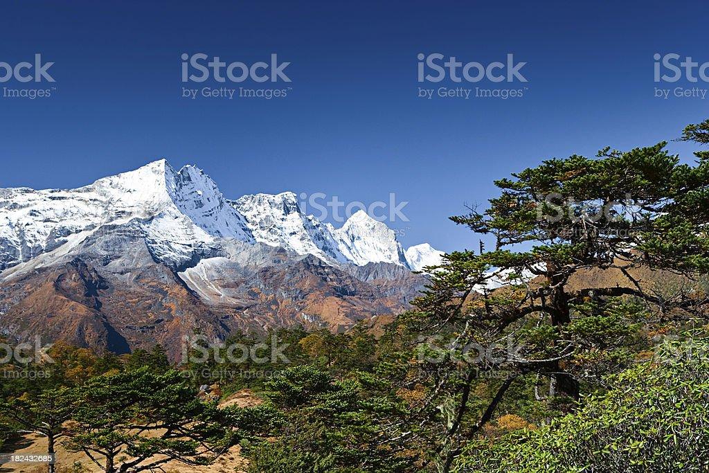 Himalaya's panorama royalty-free stock photo