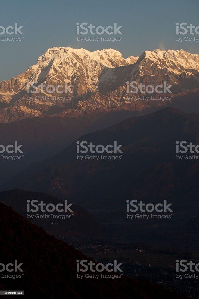Himalayas royalty-free stock photo