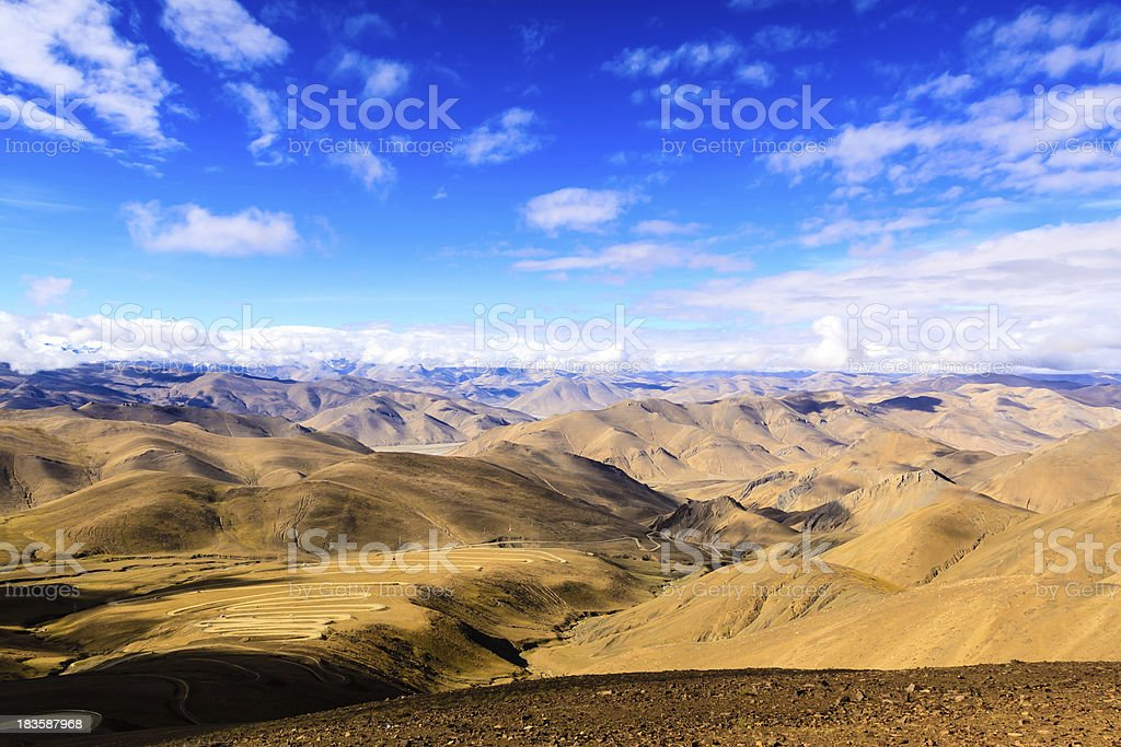 Himalayas. Tibet royalty-free stock photo