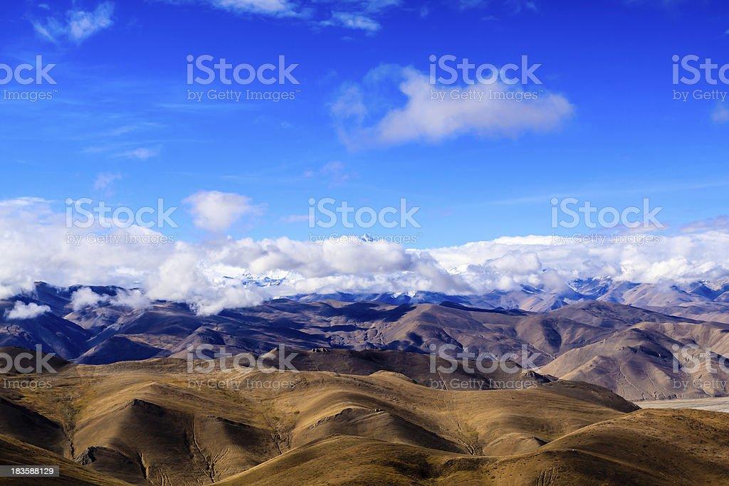 Himalayas. Tibet royalty-free stock photo