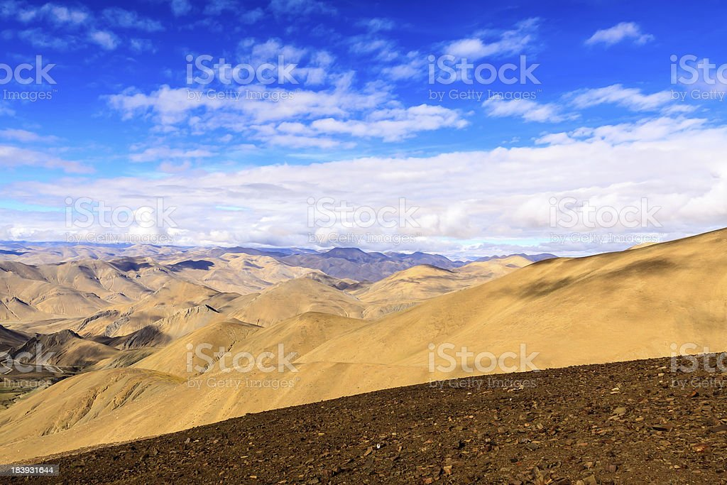 Himalayas. Tibet stock photo