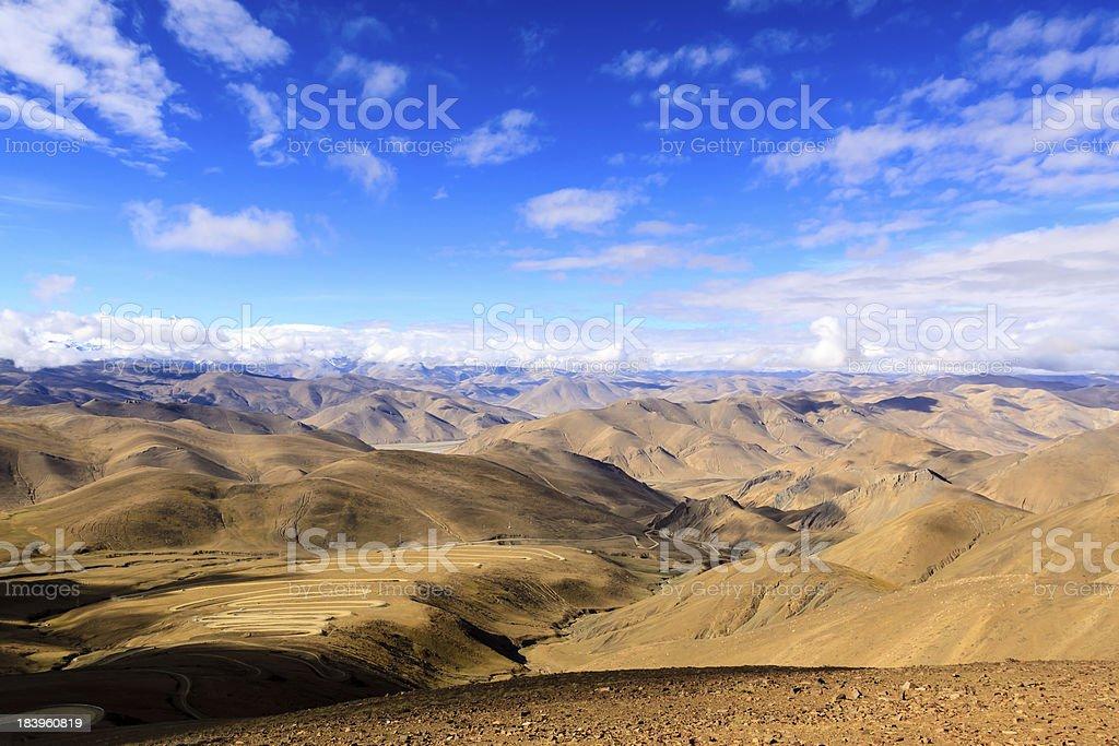 Himalayas. Tibet stock photo