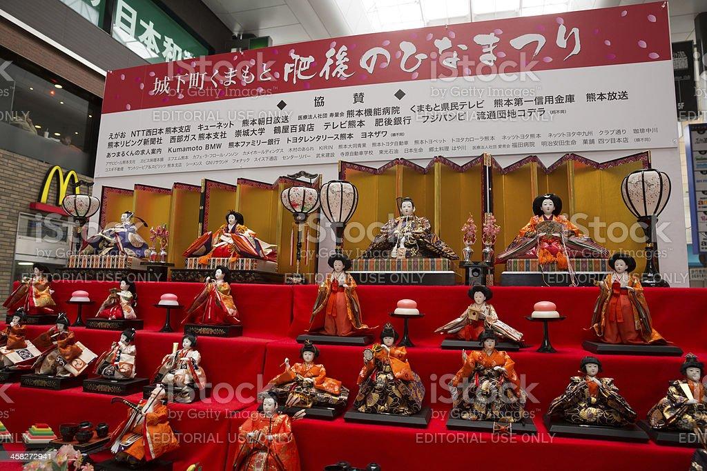 Hinamatsuri in Japan stock photo