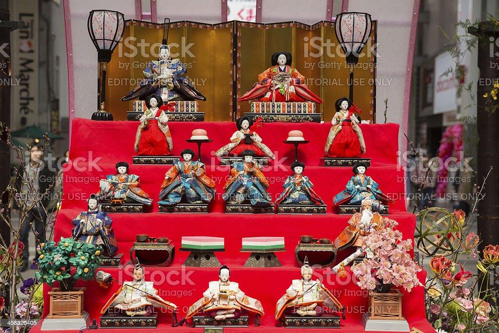 Hinamatsuri in Japan royalty-free stock photo