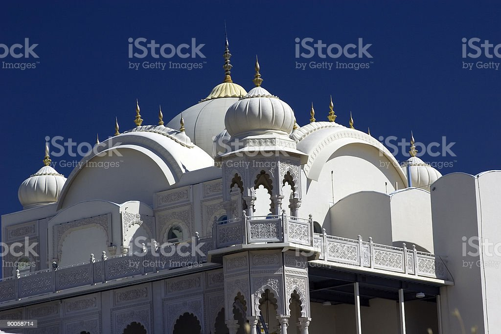 Hindoo Temple royalty-free stock photo