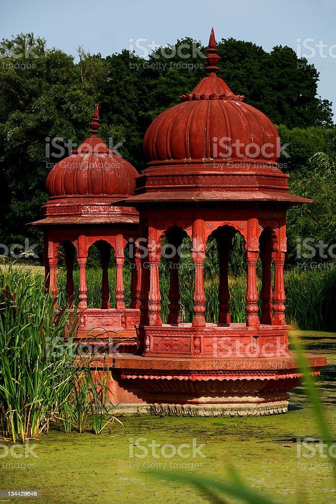 Hindu achitecture, sanctuary stock photo