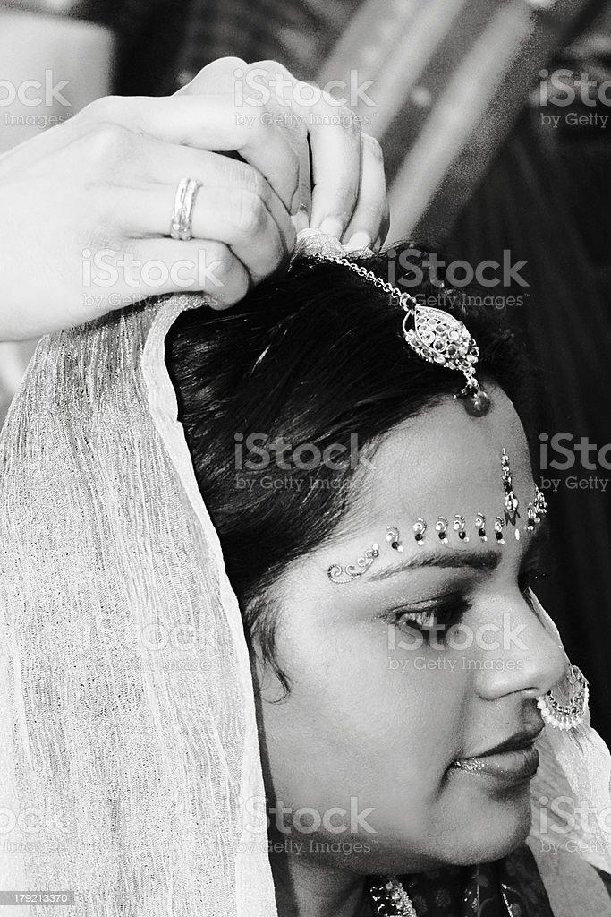 Hindu bride royalty-free stock photo