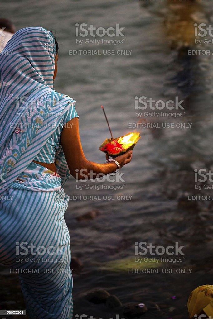 hindu ceremony stock photo