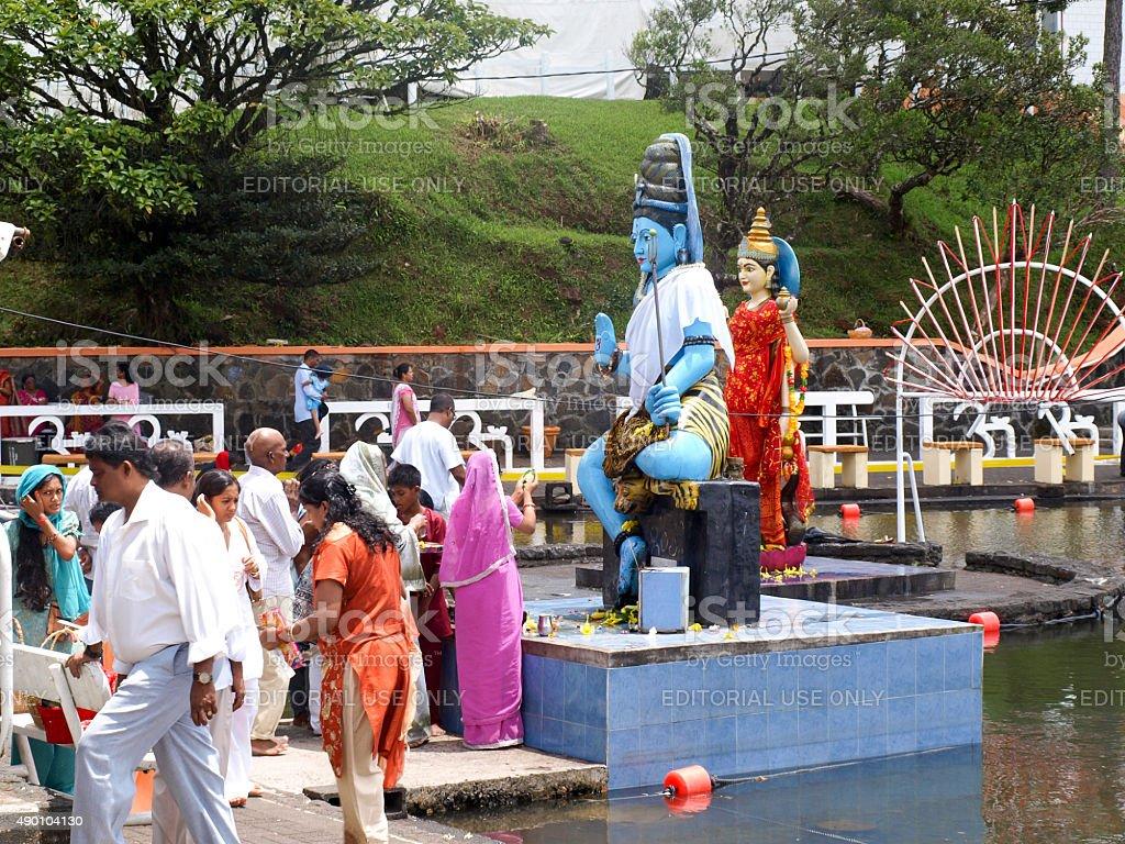Hindu festival Maha Shivaratri royalty-free stock photo