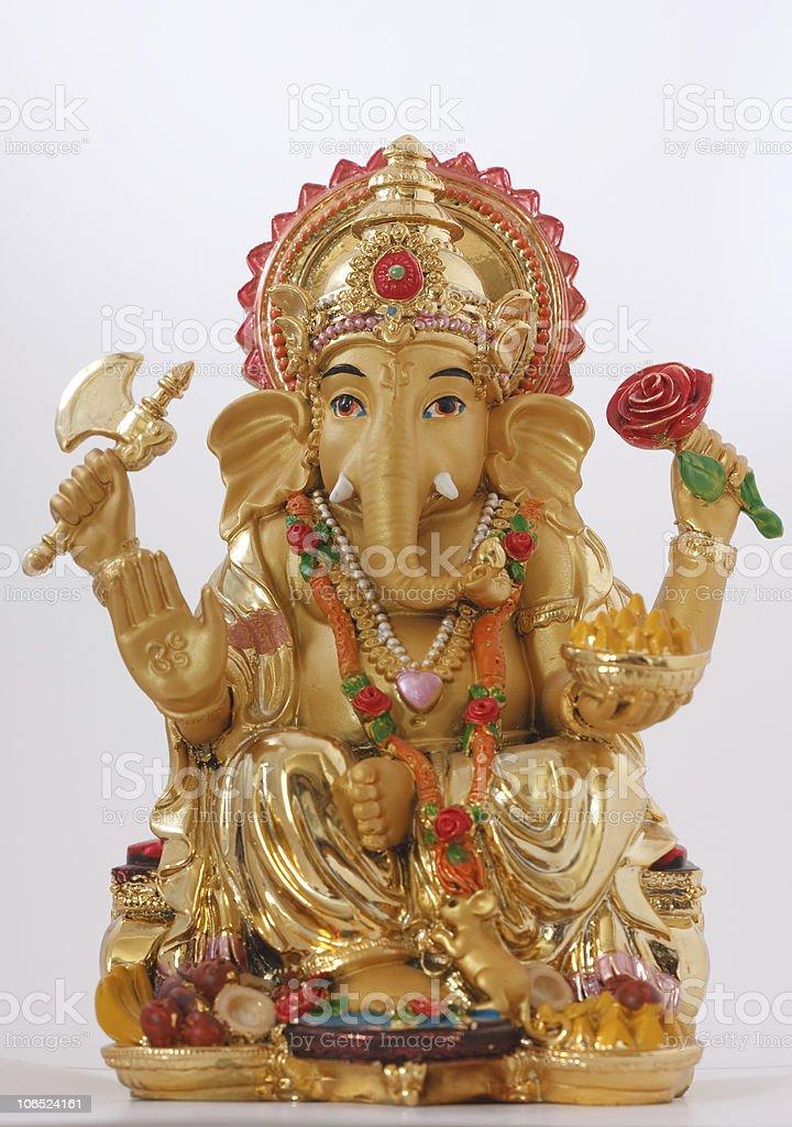 Hindu God Ganesh stock photo