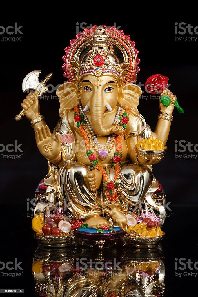 Hindu God Ganesh royalty-free stock photo