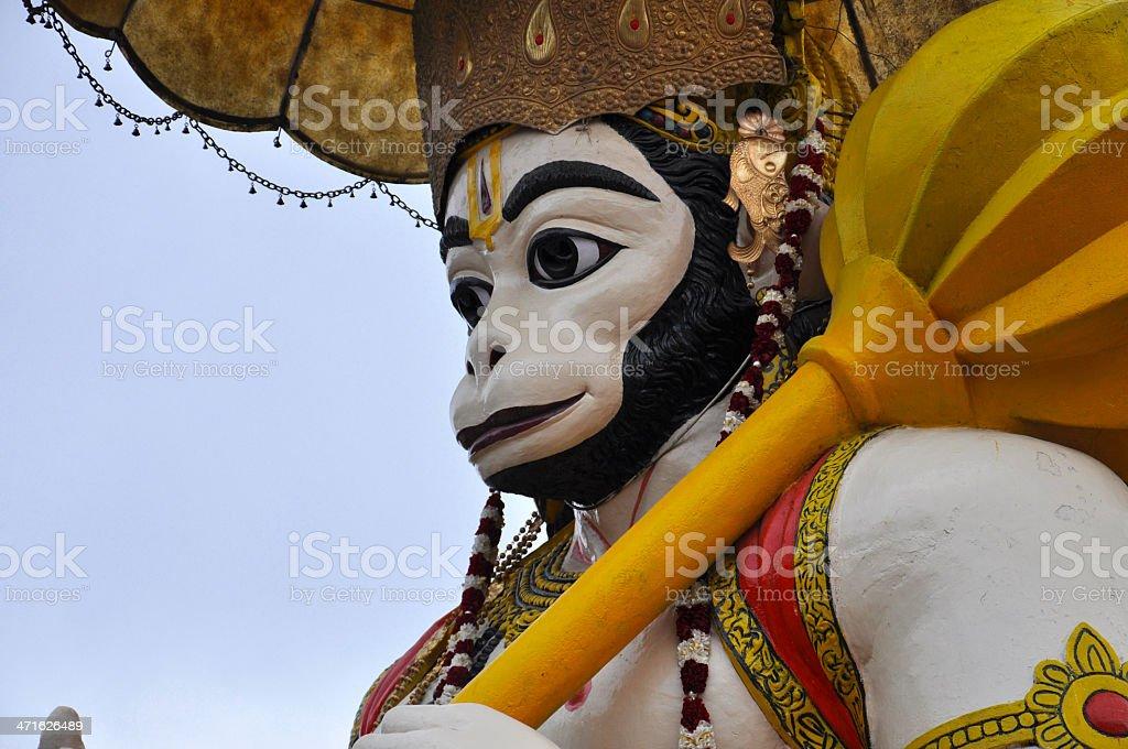 Hindu God Hanuman stock photo