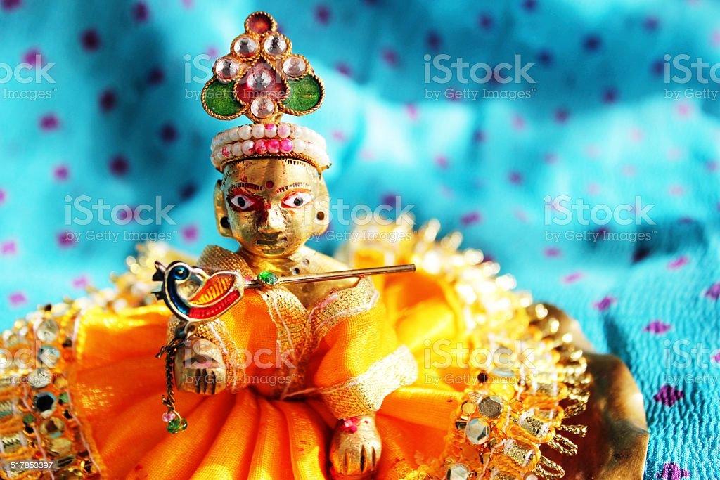Hindu God Lord Krishna stock photo