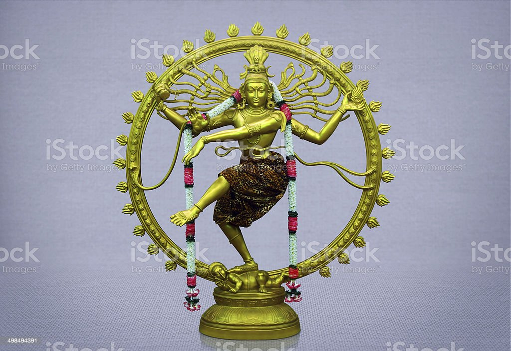 Hindu God Nataraj stock photo