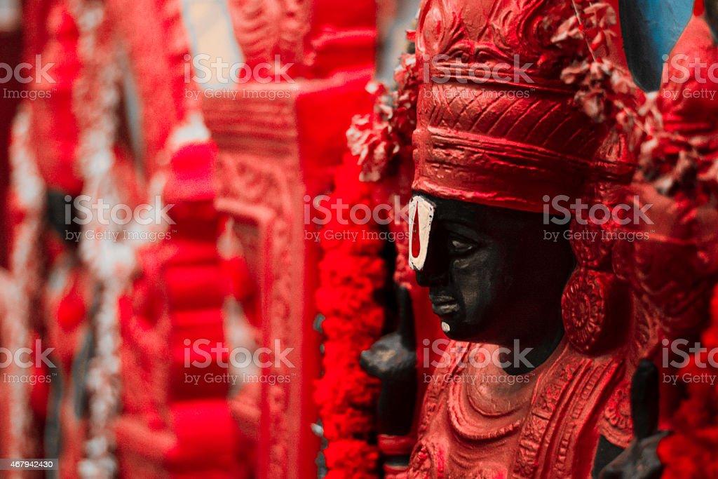 Hindu God stock photo