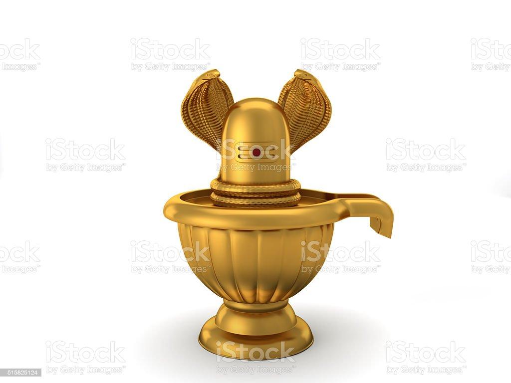 Hindu God Siva Linga stock photo