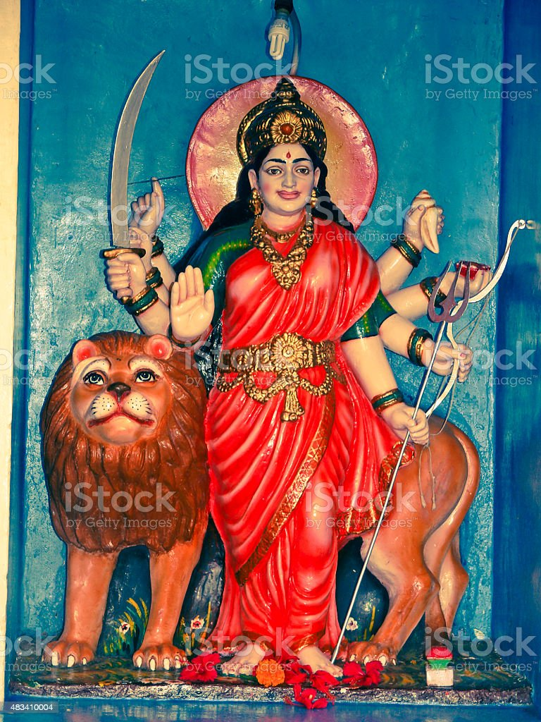 Hindu Goddess stock photo
