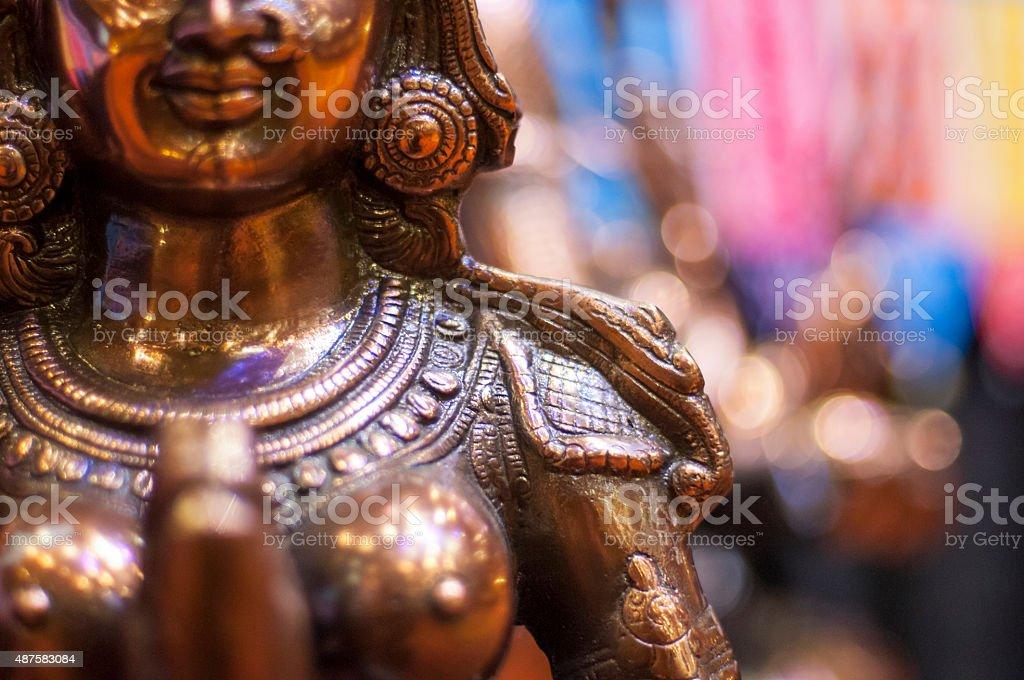 Hindu Goddess stock photo