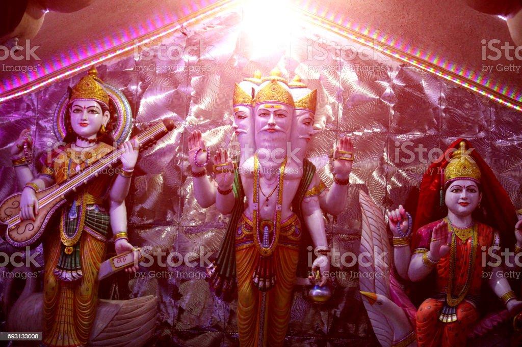Hindu Goddess ! stock photo