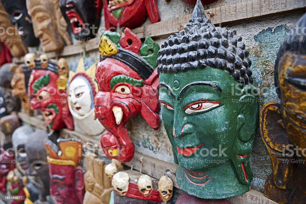 Hindu gods stock photo