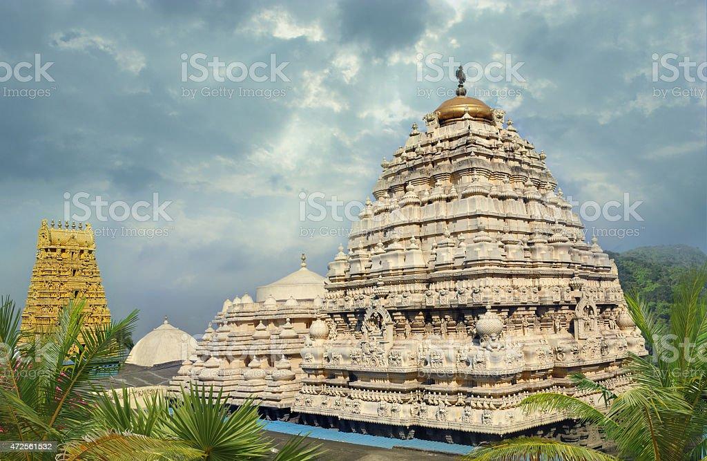 Hindu Narasimha temple stock photo
