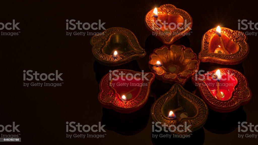 Hindu religion and Indian celebration of Diwali stock photo
