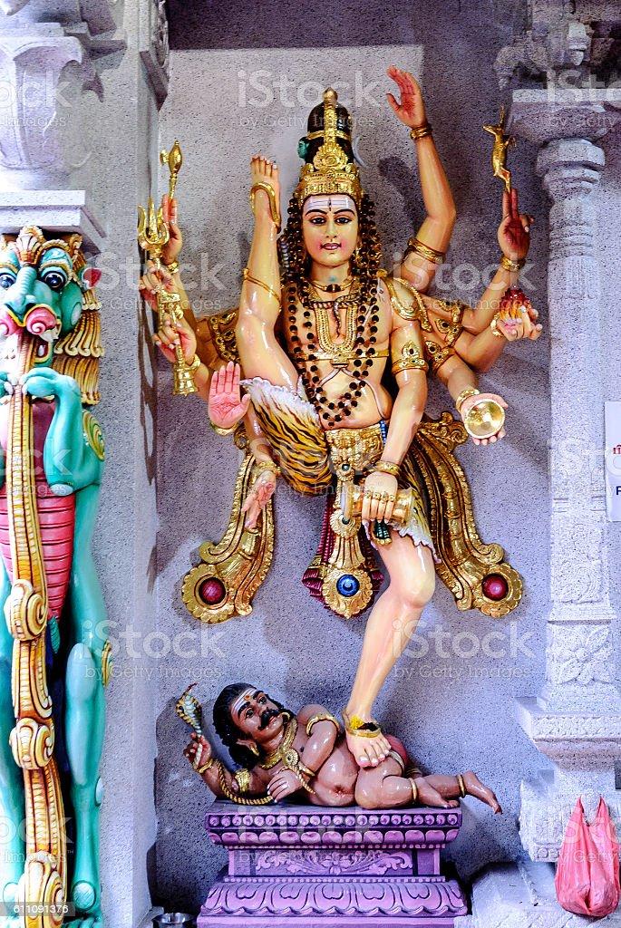Hindu representations stock photo