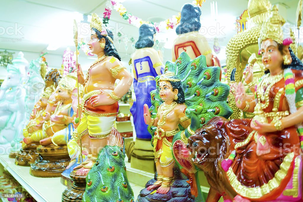 Hindu Statues stock photo