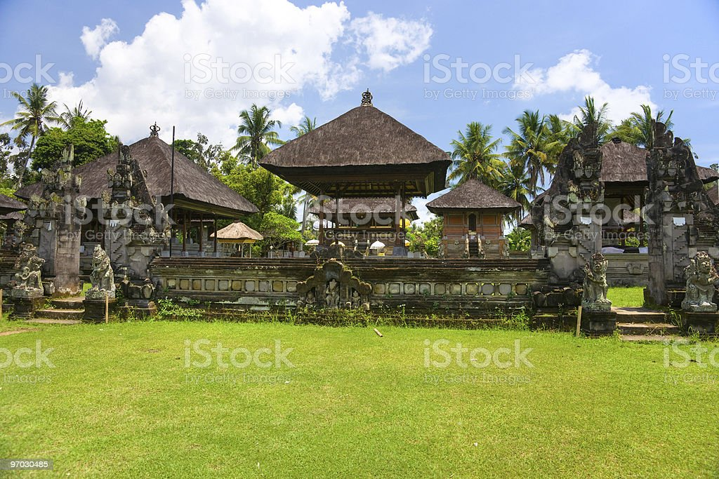 Hindu temple, Bali, Indonesia. royalty-free stock photo