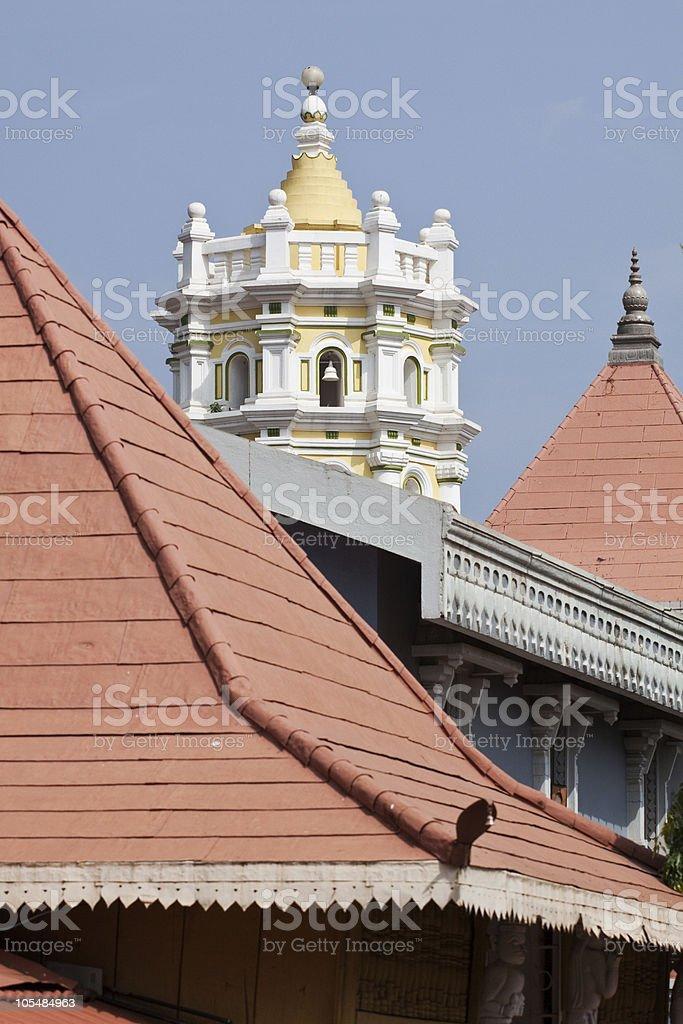 Templo Hindu foto de stock royalty-free