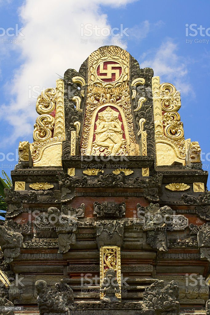 Hindu temple royalty-free stock photo