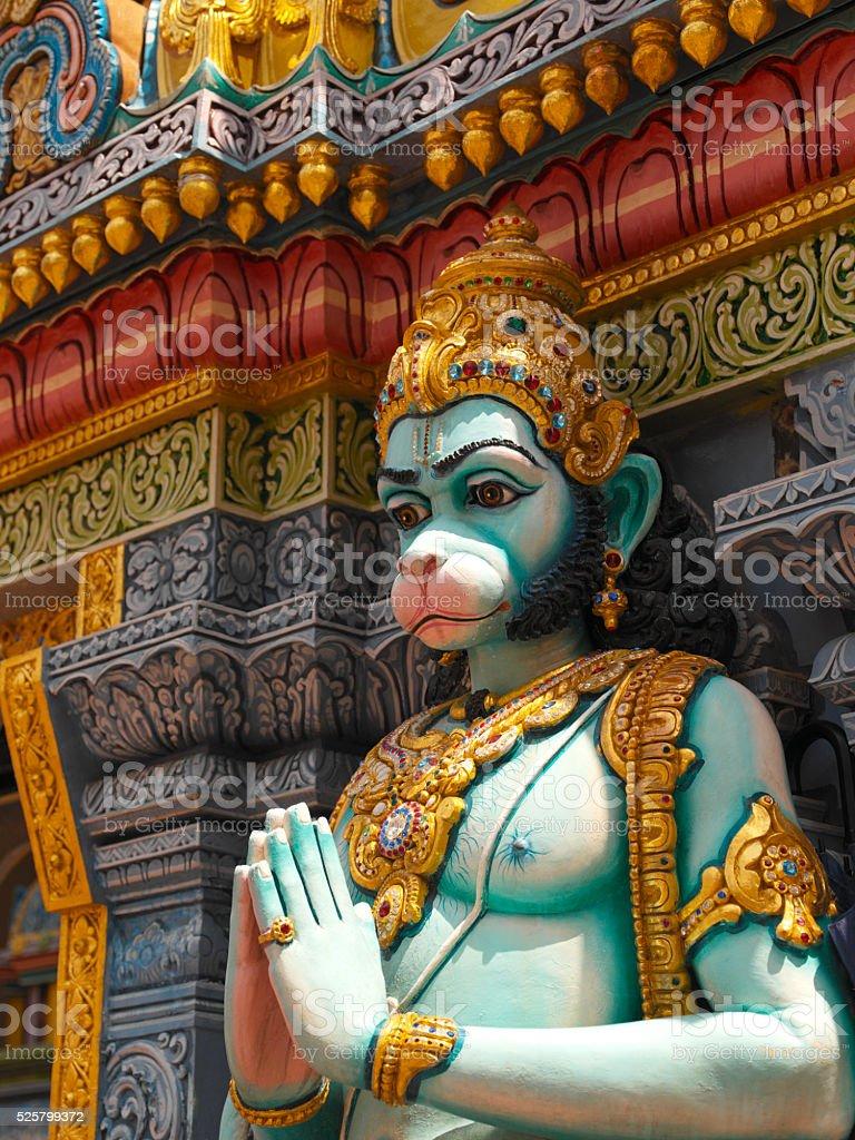 Hindu Temple - Singapore stock photo