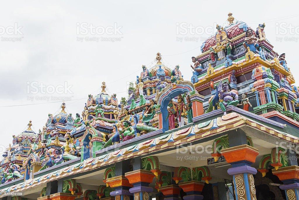 Hindu temple statues, India stock photo