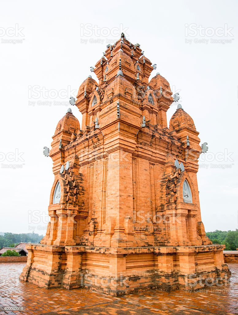 Hindu tower-temples stock photo