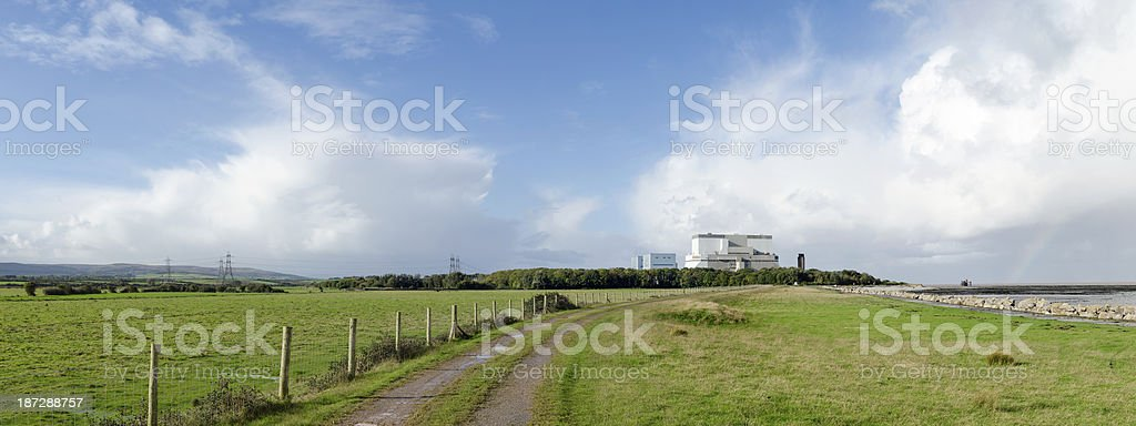 Hinkley Point Nuclear power station, Somerset, United Kingdom stock photo