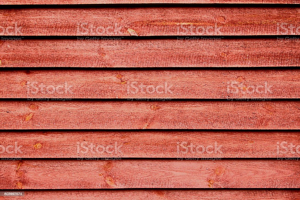 Hintergrund Holzwand rot stock photo