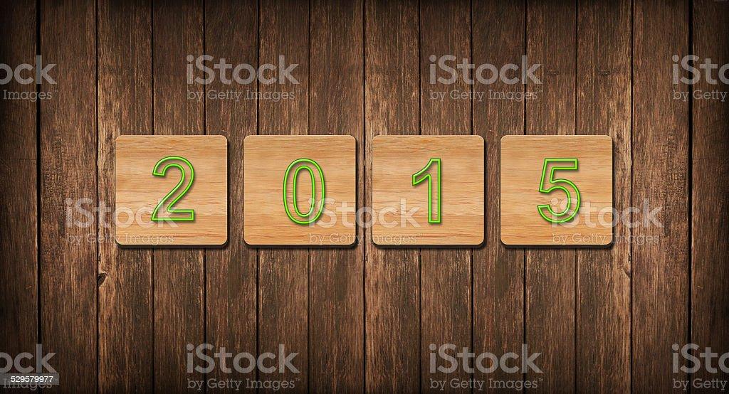 2015 / Hintergrund stock photo