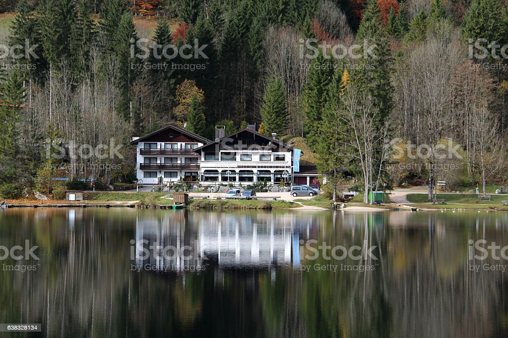 Hintersee (Ramsau), Germany stock photo