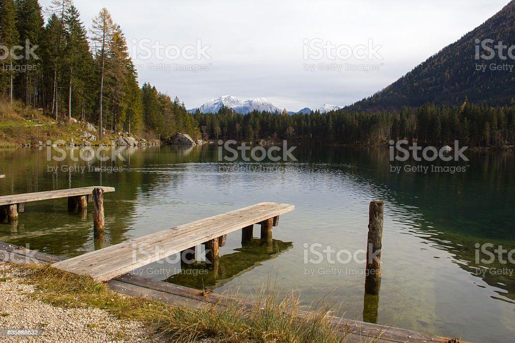 Hintersee (Ramsau) stock photo