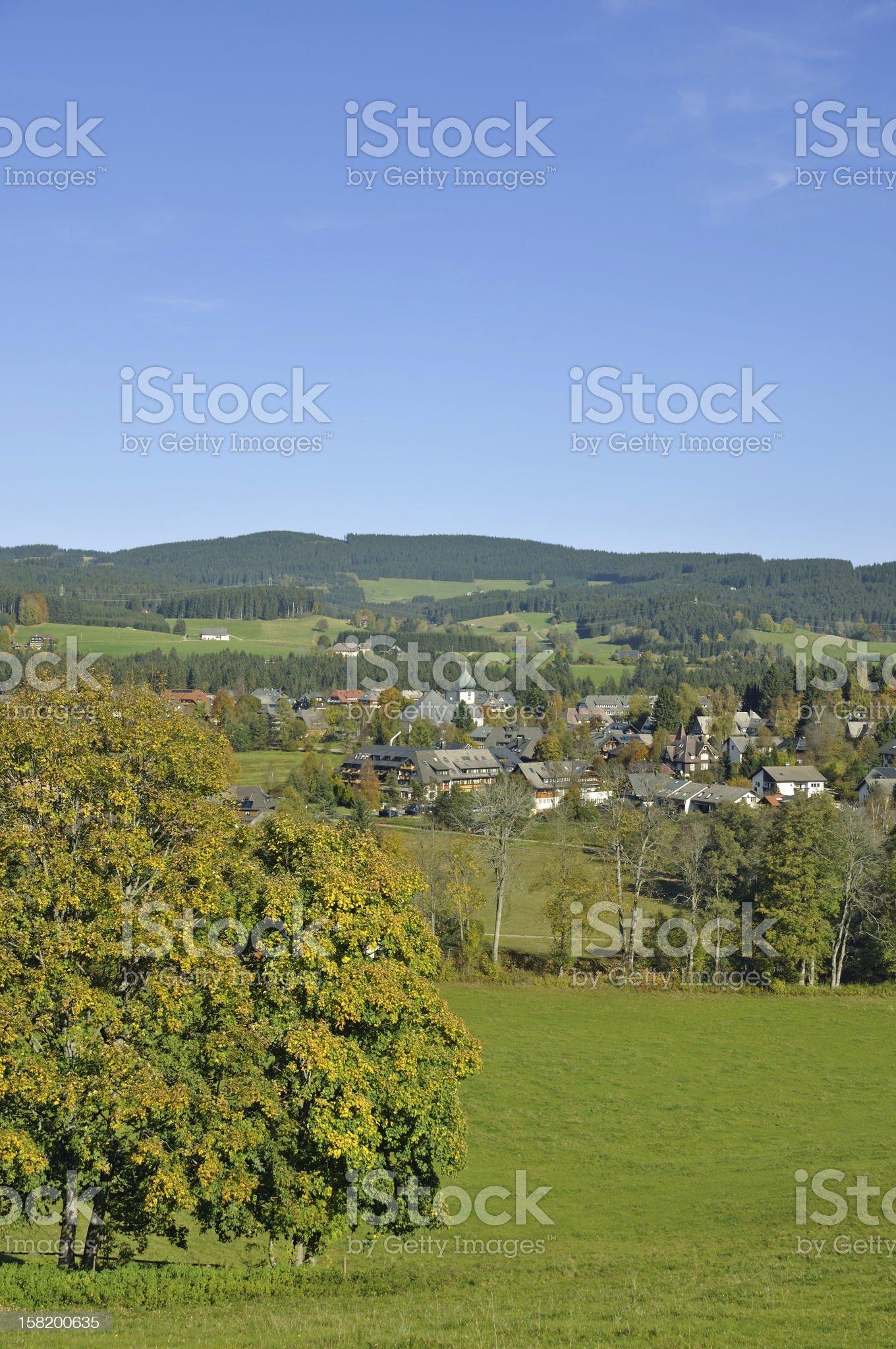 Hinterzarten,Black Forest,Germany royalty-free stock photo