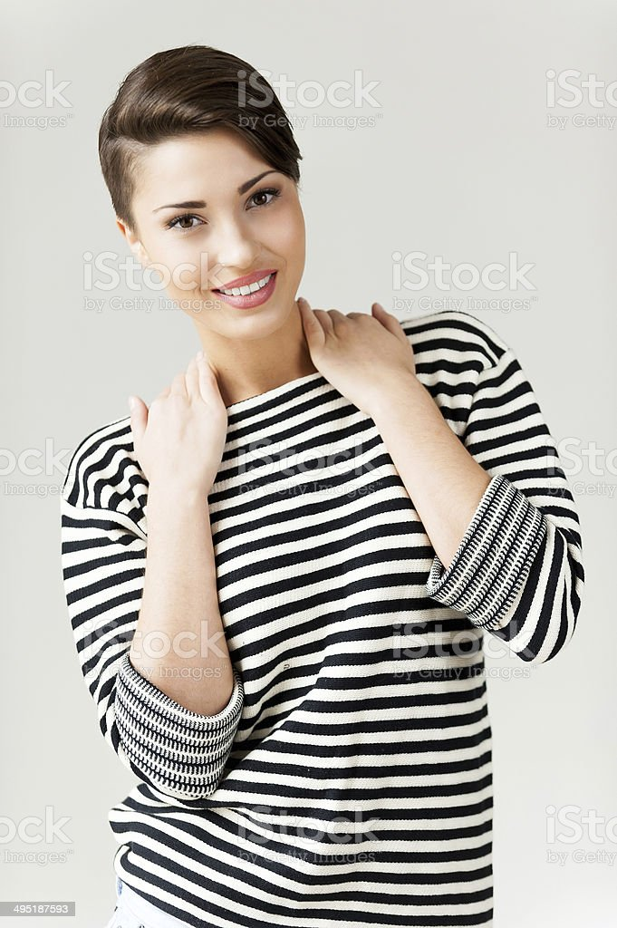 Hip and funky. stock photo